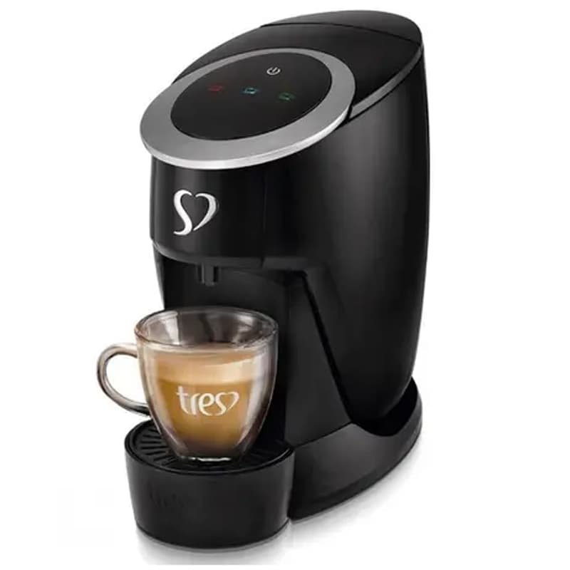 Cafeteira Espresso Touch Preta 110v TRES da 3corações