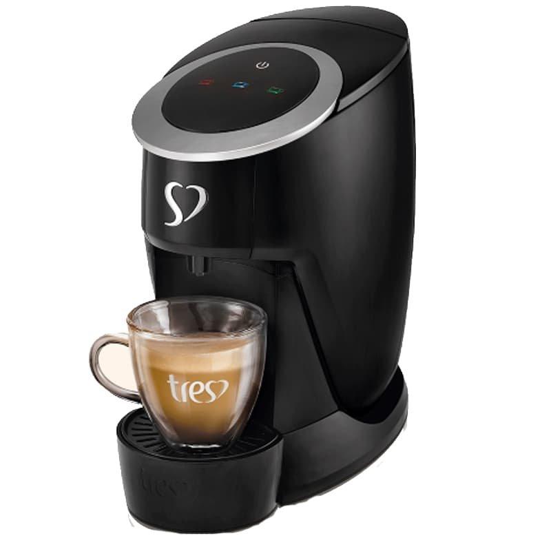 Cafeteira Espresso Touch Preta 220v TRES da 3corações