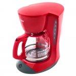 Cafeteira W12R Red Cuisine Oster Preta e Vermelha Bvstdcdw12r 057 220V