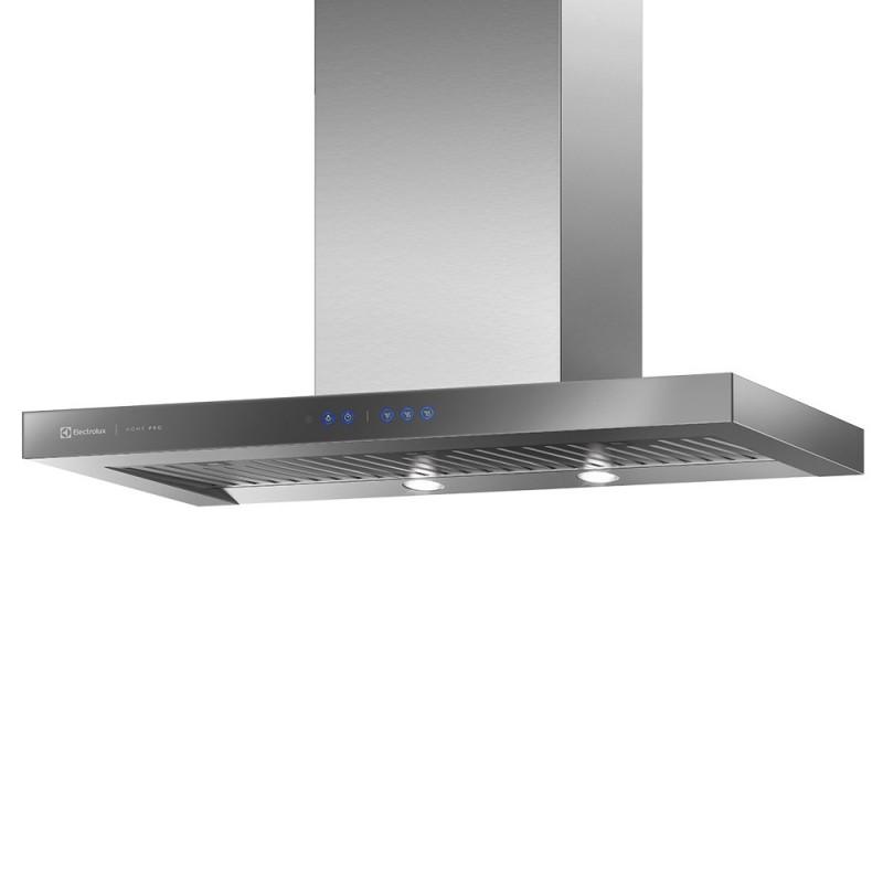 Coifa de Parede 90cm Inox com Painel frontal de Vidro Espelhado Electrolux 127V (90CTU)