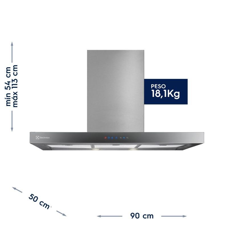 Coifa de Parede Blue Touch Electrolux 127V (90CTS)