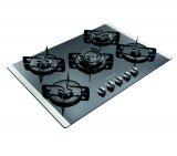 Cooktop Electrolux GC75G / Gás / 5 Bocas / Mesa de Vidro / Inox / Bivolt