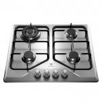 Cooktop 4 bocas cor Inox a Gás Electrolux Bivolt (GT60X)