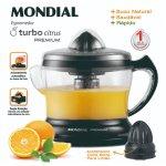 Espremedor De Frutas Mondial Premium 127V Preto