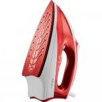 Ferro de Passar a Vapor Oster 127V Vermelho Base de cerâmica Botão de spray