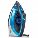 Ferro de Passar a Vapor Cerâmica Oster Turbo Steam 220V Azul
