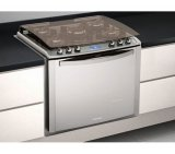 Fogão de Embutir Electrolux I-Kitchen 76EIX / 5 Bocas / Inox / 110V