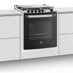 Fogão 4 Bocas de Embutir Electrolux Branco Automático com Grill e Tripla Chama Bivolt (56EBT)