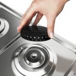 Fogão Electrolux 4 Bocas Automático com Timer Digital e Forno de 70L Branco 52LBR Bivolt