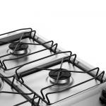 Fogão 5 Bocas Electrolux Prata Automático com Tripla Chama e Timer Digital (76USR) Bivolt