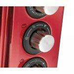 Forno Elétrico Oster Gran Taste 220V Vermelho 15L com 4 funções programáveis