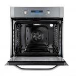 Forno Electrolux de Embutir a Gás 73L Painel Blue Touch com Grill e Convecção Inox OG8DX 220V
