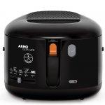 Fritadeira à óleo Arno Filtra One FILT 220V Preta 2,1L 1,2Kg de Alimento