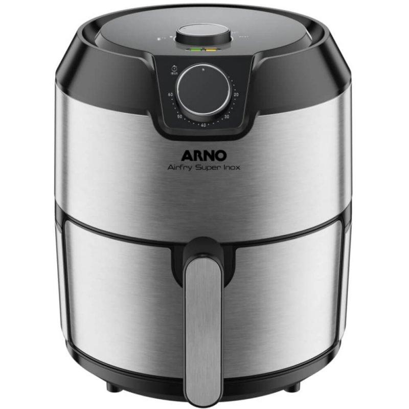 Fritadeira Arno Ifry Super Inox Sem Óleo 220V Capacidade de 4,2L