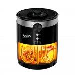 Fritadeira Arno Airfry Moderna Preta Sem Óleo 127V Capacidade de 3,5L