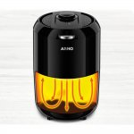 Fritadeira Arno Cfry Compact Preta Sem Óleo 220V Capacidade de 1,6L