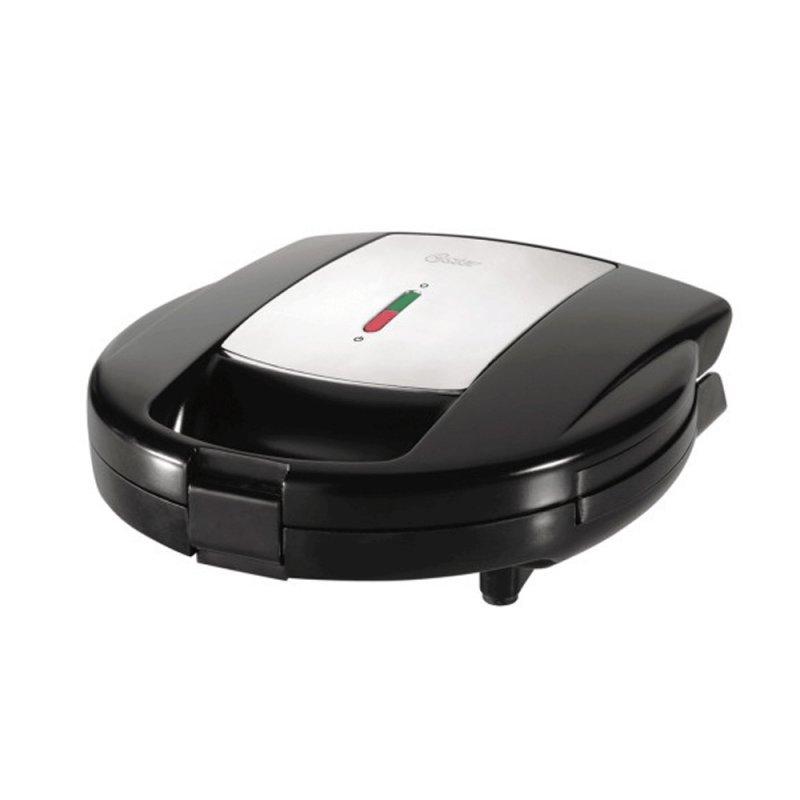 Sanduicheira e Máquina de Waffles Oster 220V com Placas Intercambiáveis