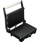 Grill Arno Dual Inox 220V Preto com Inox com Placas Antiaderentes