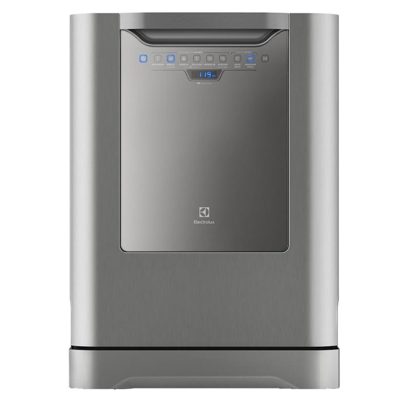 Lava-Louças Electrolux Inox 14 Serviços 127V (LV14X)