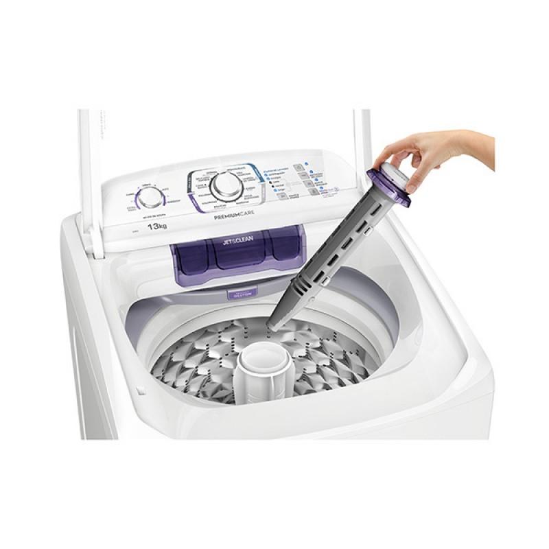 Lavadora Branca com Dispenser Autolimpante e Tecnologia Jet&Clean Electrolux (LPR13)