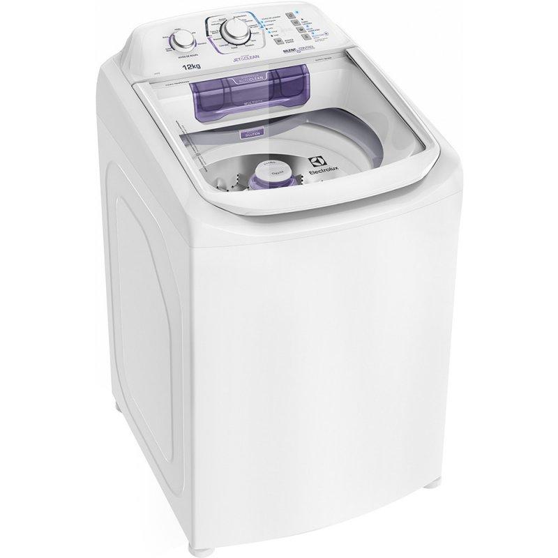 Lavadora Compacta Electrolux 12 Kg com Dispenser Autolimpante e Cesto Inox LAC12 220V