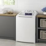 Lavadora de Roupas Electrolux Jeteamp Clean 13 kg Branca LAC13 220V