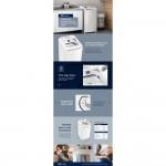 Lavadora de Roupas Essential Care Electrolux 8.5kg LES09 220V