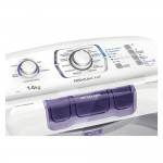 Máquina de Lavar 14 Kg Turbo Electrolux Branca com Cesto Inox e Silenciosa sem Agitador (LPR14) 220V