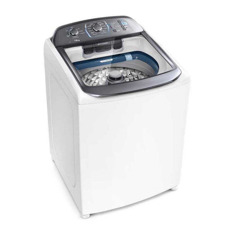 Máquina de Lavar 16Kg Perfect Wash com Jet&Clean Máquina de Cuidar Electrolux (LPE16) 220V