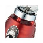 Liquidificador Osterizer Clássico Oster 3 Velocidades Jarra de Vidro 1,25L Vermelho 220V