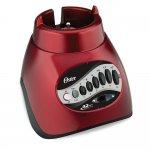 Liquidificador Oster Versatile 220V Vermelho 450W 12 Velocidades Copo de Vidro 1,25L