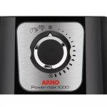 Liquidificador Arno Power Max 127V Preto 1000W Copo San Cristal 3,1L 15 Velocidades