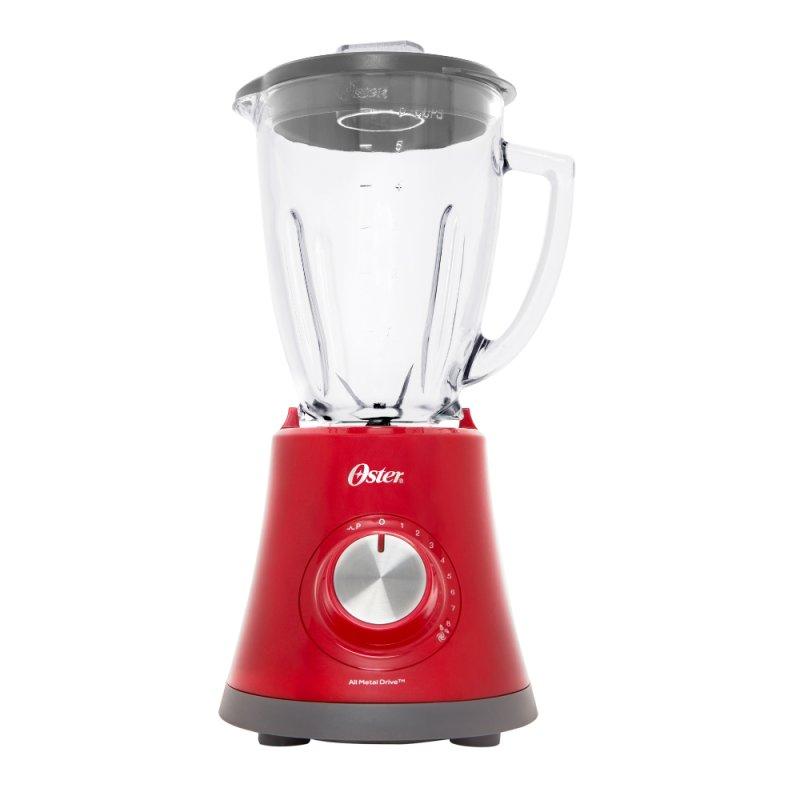 Liquidificador Oster Super Chef 8 Velocidades com Jarra de Vidro 1,2L Vermelho 127V