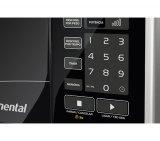 Microondas Continental 22 Litros / 10 Níveis de Potência / Inox / 220V