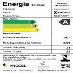 Micro ondas Electrolux 34 litros de Embutir Autolimpante com Painel Blue Touch Preto ME3EP 127V