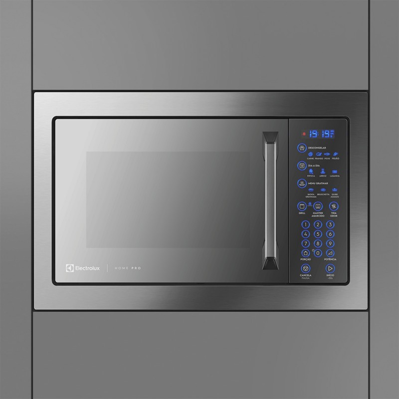 Micro ondas 34L Inox Home Pro Electrolux (MX43T)