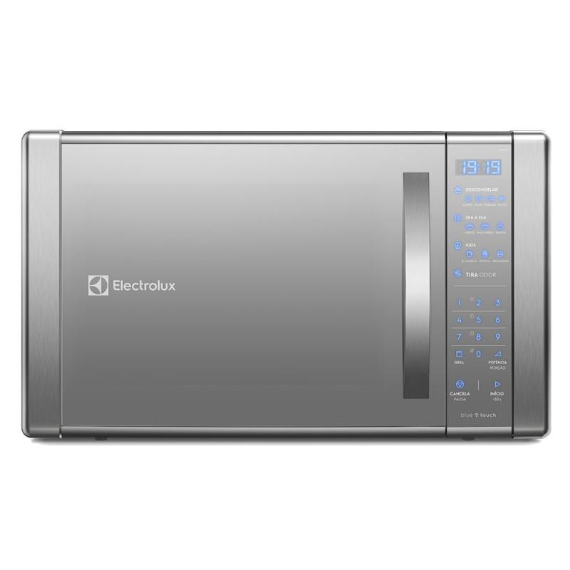 Micro Ondas Electrolux 31L com Painel Touch On Glass e Função Grill Prata ME41X 220V