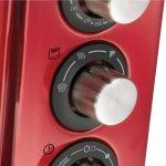Forno Elétrico Oster Gran Taste 127V Vermelho 15L com 4 funções programáveis