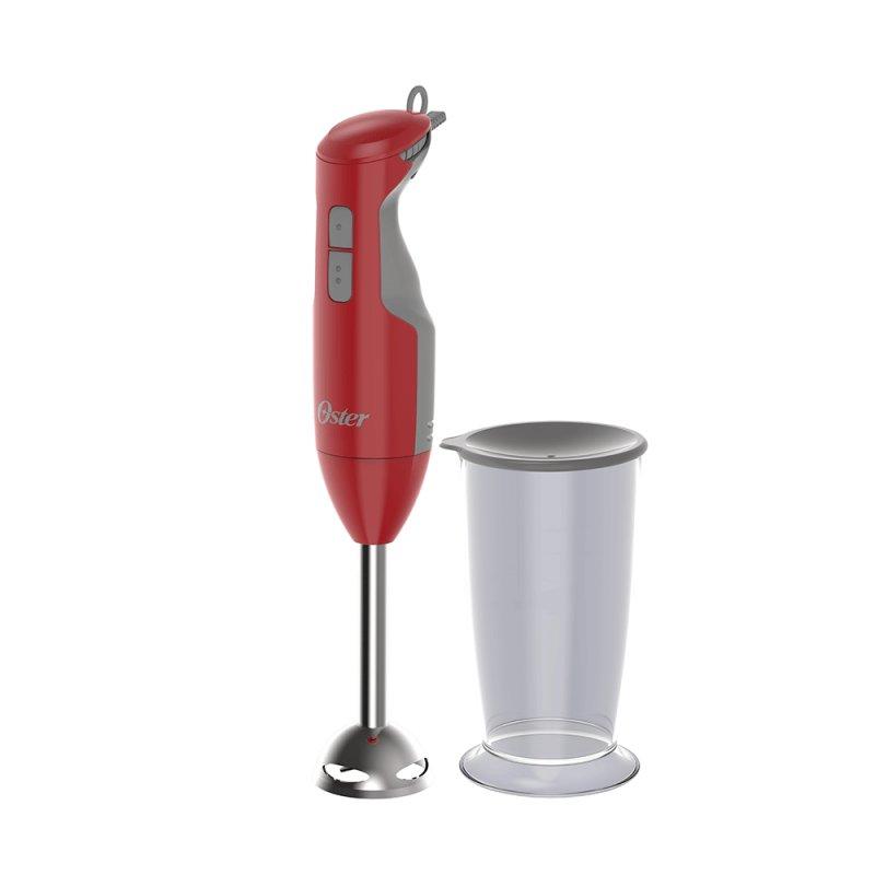 Mixer Oster Versatile Vermelho 127V com Haste Em Aço Inox E Motor de 250W