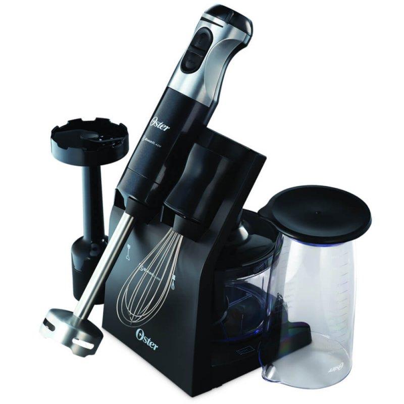 Mixer Oster Multipower Elegance 220V Preto 600W com Acabamento Em Aço Inox