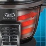 Panela Elétrica Oster Multi Gourmet 127V 900W Vermelha com Capacidade de 1,8L