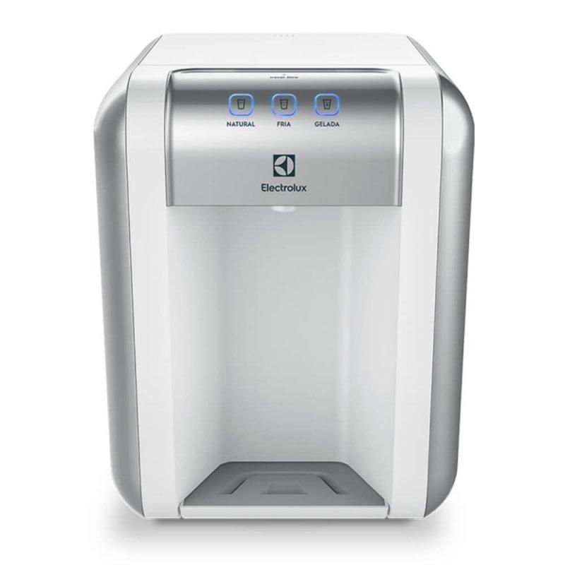Purificador de Água Natural, Gelada ou Fria Electrolux PE11B Branco Bivolt com Painel Touch