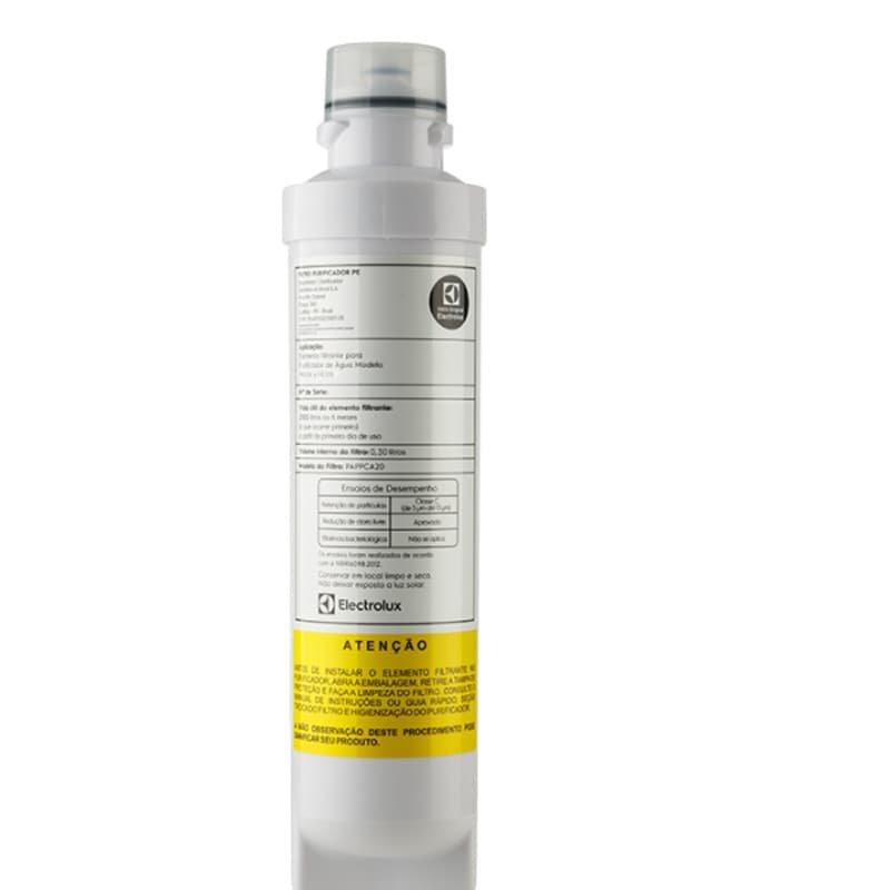 Refil Filtro PE10B e PE10X para Purificador de Água Electrolux