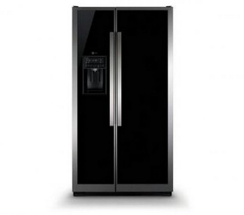 Refrigerador Side By Side / 549L / Turbocool / Black Vidro / 220V