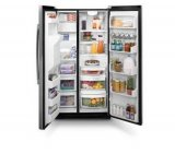 Refrigerador Side By Side / 549L / Turbocool / Black Vidro / 110V