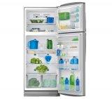 Refrigerador Duplex GE / Glass Vidro 475L / Inox com Preto /127 V