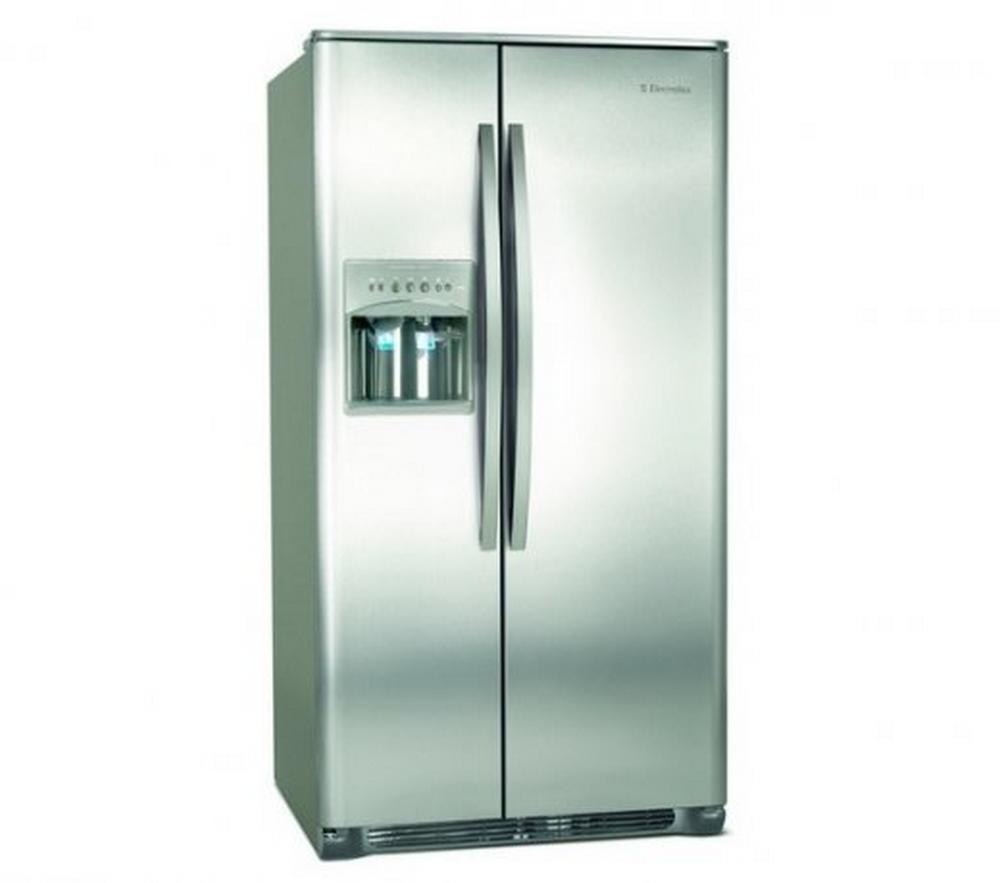 Refrigerador Side By Side Electrolux SS77X / 656L / Water Dispenser e Ice Maker Ext. / 110V