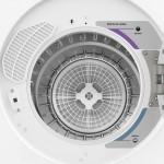 Secadora de Parede e Piso Electrolux 10.5kg Compacta Turbo SVP11 220V