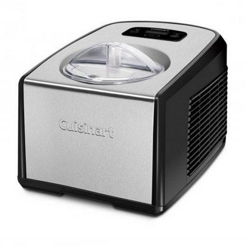Máquina de Sorvete / Cuisinart / Aço Escovado / Timer / Preta / 110V