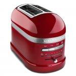 Torradeira 2 Fatias KitchenAid Pro Line 127V Candy Apple 1000W com Função Descongelar